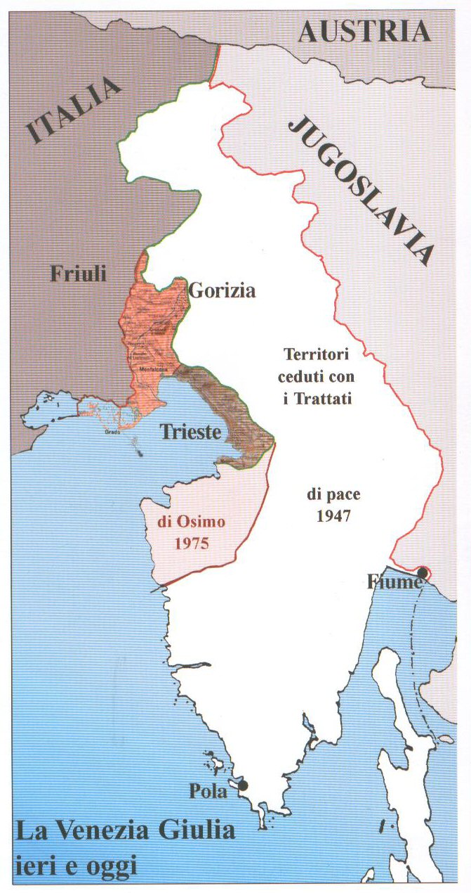 Dalmazia Italiana Cartina.Le Foibe E L Esodo Giorgio Perlasca