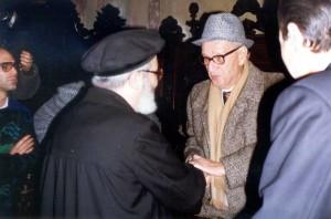 29.11.1988 con il Rabbino Viterbo