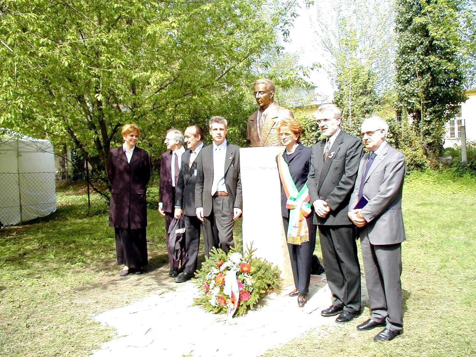 Franco Perlasca, Sindaco di Padova, Ministro educazione Palinkas e Ambasciatore italiano Verderame,