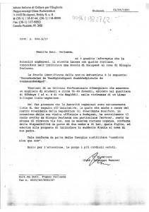 lettera istituto cultura italiano, 2 giugno
