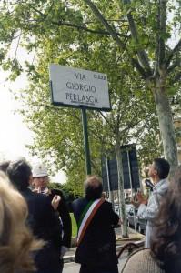 aprile 2000, inaugurazione via a Roma2
