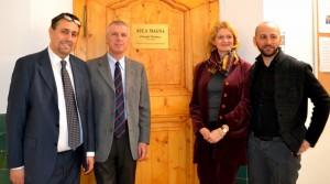 Bolzano, inaugurazione Aula Magna a Giorgio Perlasca scuola Dante Alighieri (3)